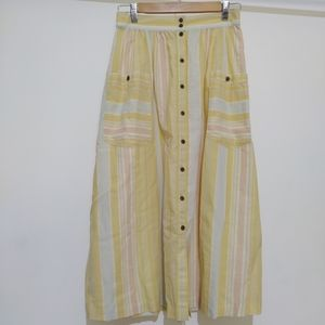 Patagonia size XS cotton hemp maxi skirt